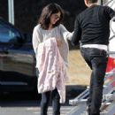 "Selena Gomez - ""The Revised Fundamentals of Caregiving"" set candids in Atlanta, January 21, 2015"