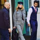 Rosie Huntington Whiteley – Leaves her hotel in NYC
