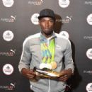 Usain Bolt Visits The PUMA Lab Powered By Foot Locker In NYC - 454 x 302