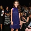 Danielle Campbell – Tadashi Shoji fashion show – 2017 New York Fashion Week in NYC