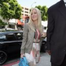 Heidi Montag - The Kitson Store On Robertson Blvd In Los Angeles, 19.04.2008.