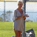 Pamela Anderson - With Tommy Lee In Local Park, 14.01.2008.