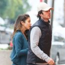 Nikki Reed and Ian Somerhalder Heading To A Morning Yoga Class In Studio City