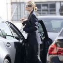 Rosie Huntington Whiteley – Heads to a meeting in Beverly Hills