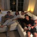 Victoria Beckham with her sons at home - 454 x 454