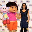 Salma Hayek - Nickelodeon's Launch Of Dora The Explorer's 10 Anniversary With The 'Beyond The Backpack' Campaign Held At The Nickelodeon Animation Studio On March 2, 2010 In Burbank, California