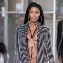 Naomi Campbell Givenchy Spring Summer 2016 Fashion Show In Paris