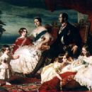 Queen Victoria and Prince Albert with their family