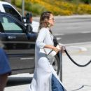 Jessica Alba – Out in Century City