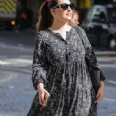 Kelly Brook – Seen at a Heart Radio after presenting the Weekend Breakfast Show in London - 454 x 852