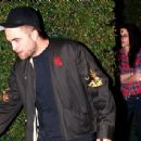 Rob and Kristen leaving William Morris Endeavor Pre-Oscar Party in Brentwood Feb. 24, 2012