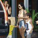 Kourtney Kardashian Takes a Boat Ride With Her Family in Miami - July 3, 2016 - 436 x 593