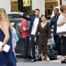 Selena Gomez out in Rome
