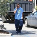 Adam Sandler is seen out and about in Brentwood CA March 24, 2017 - 454 x 349