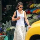 Katie Holmes in Long Skirt – Out in New York City