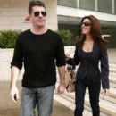 Mezhgan Hussainy and Simon Cowell