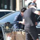 Shannen Doherty – Shopping candids with her husband at market in Malibu - 454 x 681