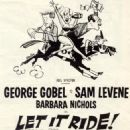 Let It Ride 1961 Musical - 454 x 773