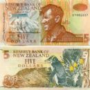 Sir Ed on the NZ $5 note