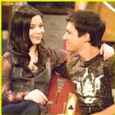 Miranda Cosgrove and Drew Roy