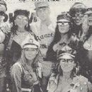 Jani Lane and friends at the annual TJ Martell Rock 'N Charity weekend 1990