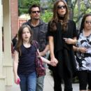 Kate Beckinsale And Family Out Shopping In Los Angeles