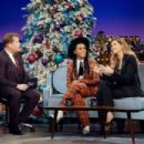 Gisele Bündchen and Janelle Monae at The Late Late Show with James Corden (December 2018) - 454 x 303