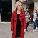 Julia Stiles – Leaves KissFM Studio in London - 454 x 734