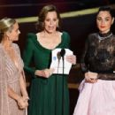 Brie Larson, Sigourney Weaver, and Gal Gadot At The 92nd Annual Academy Awards - Arrivals - 454 x 303