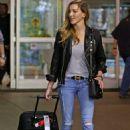 Katie Cassidy– Airport Candids 10/6/2016