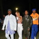 Iggy Azalea and Tyga – Neon Carnival Party at 2018 Coachella in Indio