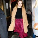 Kimberley Walsh – Arrives at Gaby Roslin special Christmas show in London - 454 x 681