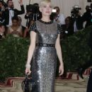 Michelle Williams – 2018 MET Costume Institute Gala in NYC - 454 x 697