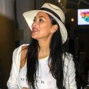 Nicole Scherzinger at LAX International Airport in LA