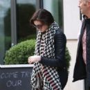 Anne Hathaway Leaving Her Hotel In New York City