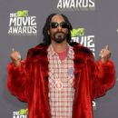 Rapper Snoop Dogg arrives at the 2013 MTV Movie Awards at Sony Pictures Studios on April 14, 2013 in Culver City, California