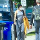 Miley Cyrus – Seen after visits a hair salon in Los Angeles