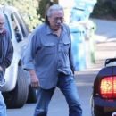 Edward James Olmos shops for properties in the Hollywood Hills, California with family on January 29, 2014 - 436 x 594