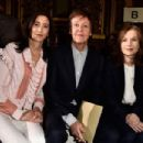 Nancy Shevell,Paul McCartney and Isabelle Huppert attend the Stella McCartney show as part of the Paris Fashion Week Womenswear Fall/Winter 2016/2017 on March 7, 2016 in Paris, France. - 454 x 302