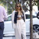 Elizabeth Olsen – Out in NYC