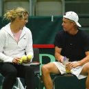 Lleyton Hewitt and Kim Klijsters - 450 x 352