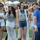 Selena Gomez, Kendall & Kylie Jenner showed up to the 2014 Coachella Valley Music and Arts Festival on Friday April 11,2014