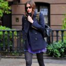 Liv Tyler - leaving her house in NYC - 01/10/10