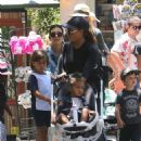 Kourtney Kardashian Out At Montage Beverly Hills