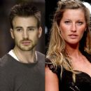 Chris Evans and Gisele Bundchen