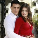 Alejandra Lazcano and David Zepeda