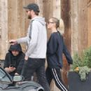 Miley Cyrus and Liam Hemsworth – Shopping in Malibu