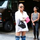 Jennifer Lopez in Jeans Boots – Out in New York