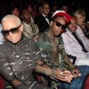 Amber Rose and Wiz Khalifa Attend The 2011 Bet Awards held at The Shrine Auditorium in Los Angeles, California - June 26, 2011 - 340 x 271
