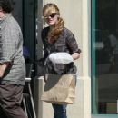 Julia Stiles Out And About In L.A. 5/11/10